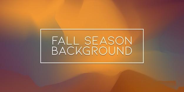 Herbstsaison farbe ölgemälde unschärfe künstlerische textur hintergrund