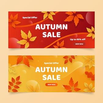 Herbstverkauf banner