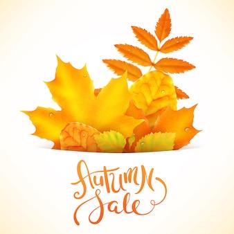 Herbstverkauf