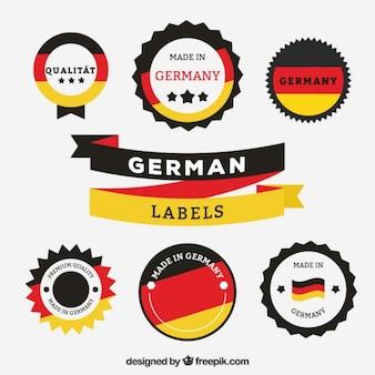 Hergestellt in deutschland etiketten
