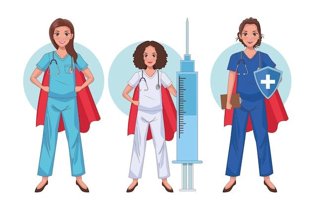 Heros krankenschwestern personal