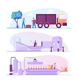 Herstellung von fruchtsaftfabriken