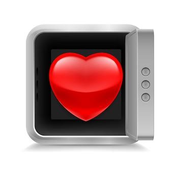 Herz in sicherheit