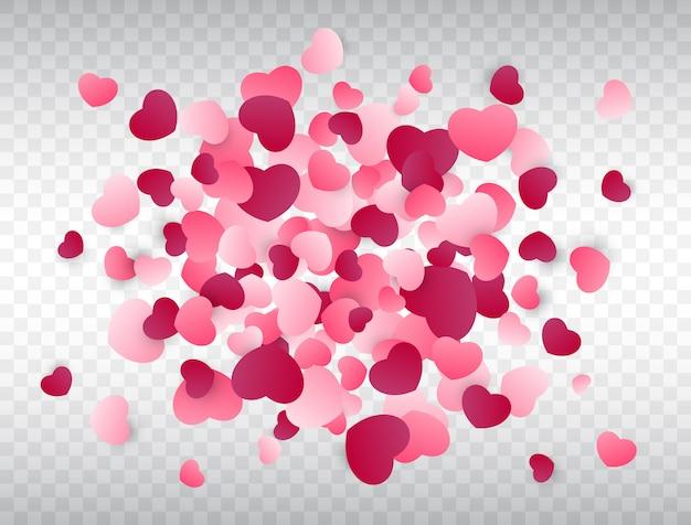 Herz konfetti splash