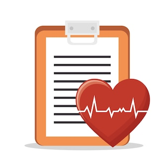 Herz puls zwischenablage gesundheit