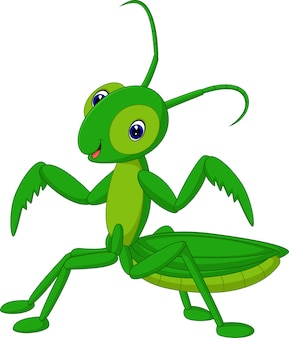 Heuschreckenkarikatur