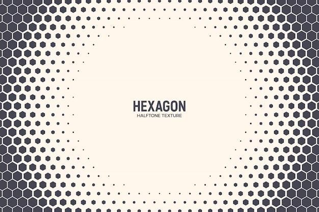 Hexagon-abstrakter technologie-hintergrund