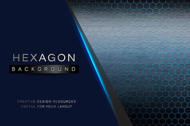Hexagon gemusterten hintergrund