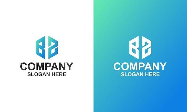 Hexagon-unternehmenslogo premium