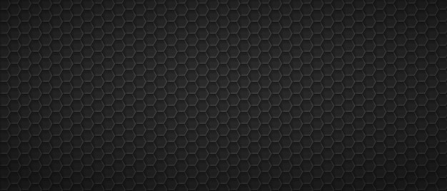 Hexagonaler maßwerkgitterhintergrund schwarzes geometrisches polygonales blatt