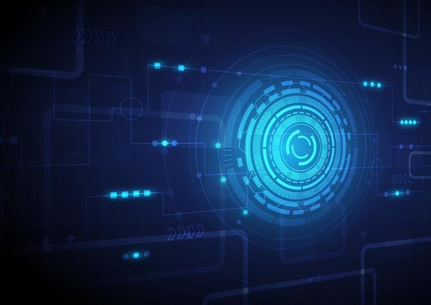 Hi-tech digitales datenverbindungssystem