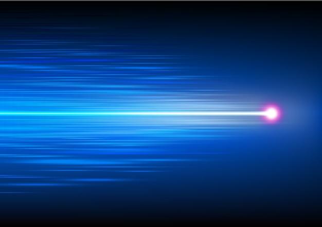 High-speed-technologie mit lichtstrahl
