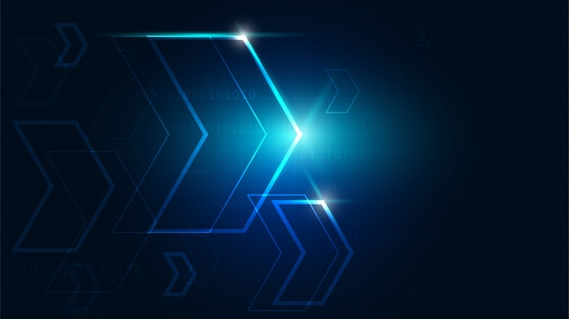 High-tech-technologie geometrisch
