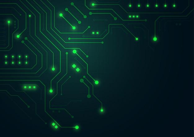 High-tech-technologie geometrischen hintergrund