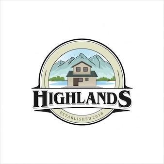 Highlands-logo-design
