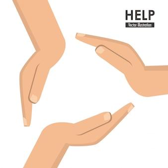 Hilfe-symbol