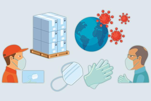 Hilfekonzept bei pandemie