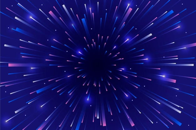Himmelsgeschwindigkeit beleuchtet hintergrund