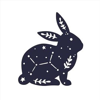 Himmlische tiere kaninchen magisches magisches kaninchen