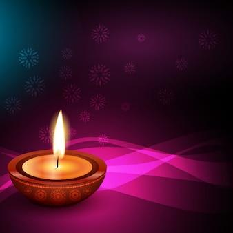 Hindu festival hintergrund von diwali