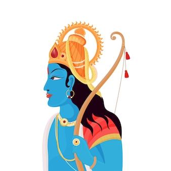 Hinduistische mythologie lord rama