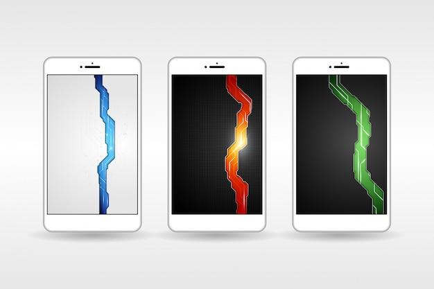 Hintergründe futuristic mobile phone