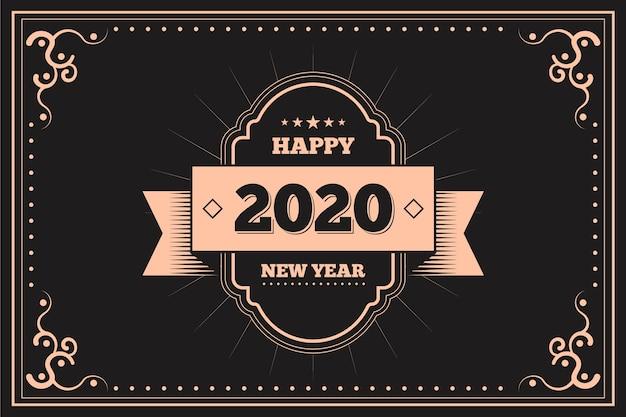 Hintergrund 2020 des neuen jahres der weinlese