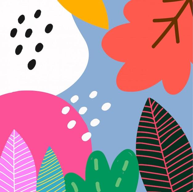 Hintergrund abstrakt tropisch