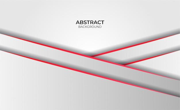 Hintergrund abstrakte art design rot und weiß