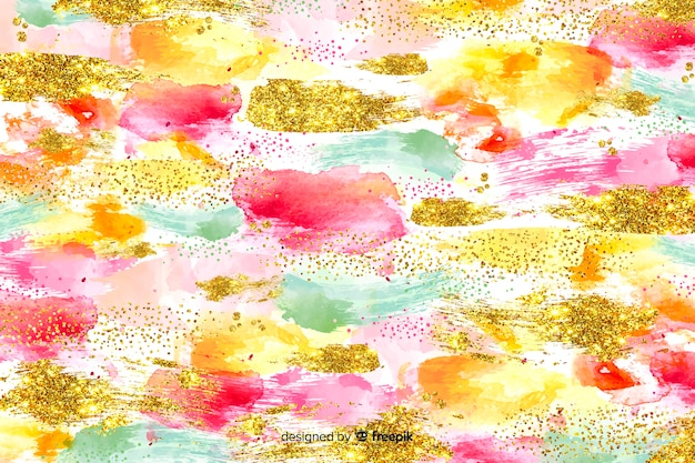 Hintergrund abstrakte pinselstriche