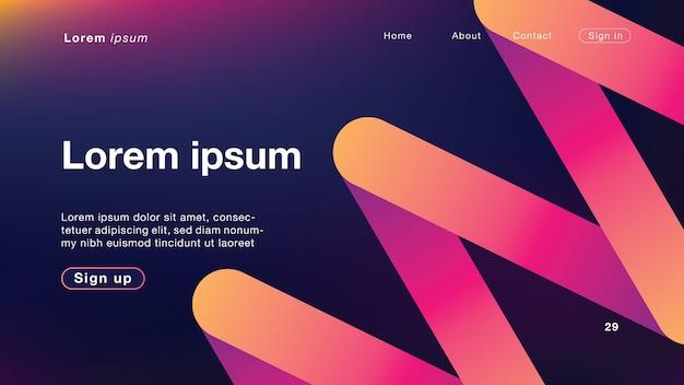 Hintergrund abstrakte welle dunkles licht für homepage