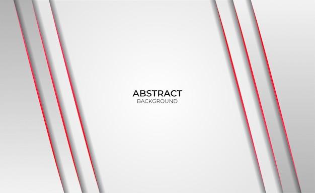 Hintergrund abstraktes design rot und weiß