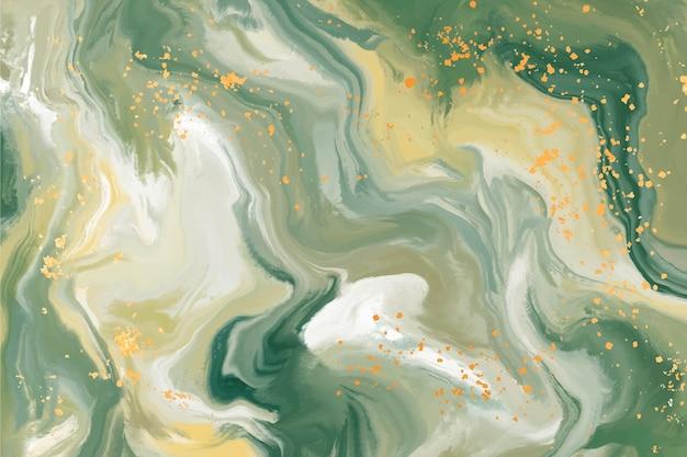 Hintergrund aus flüssigem marmor