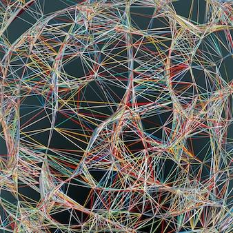 Hintergrund der abstrakten linien. datei enthalten