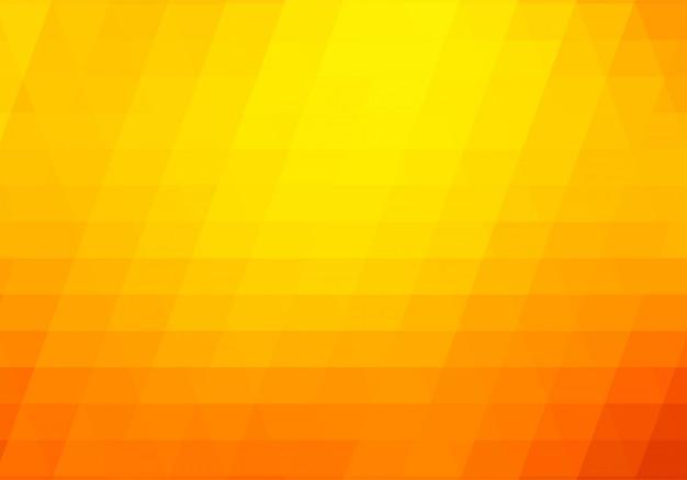 Hintergrund der abstrakten orange und gelben geometrischen formen