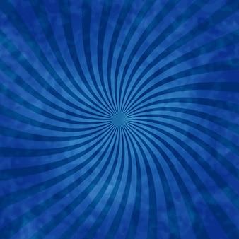 Hintergrund der blauen strahlen