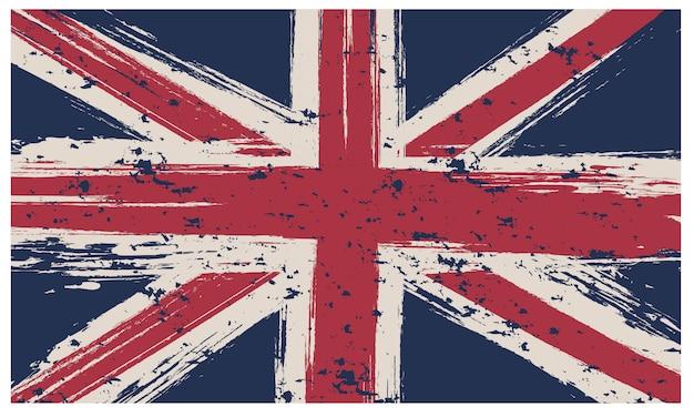 Hintergrund der britischen flagge