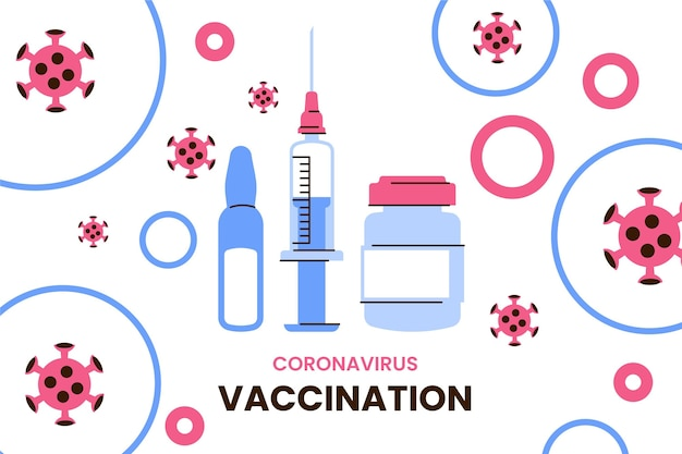Hintergrund der coronavirus-impfung
