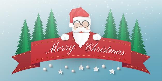 Hintergrund der frohen weihnachten und des guten rutsch ins neue jahr.