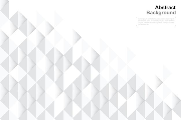 Hintergrund der geometrie 3d in der papierkunstart für schablonendesign.