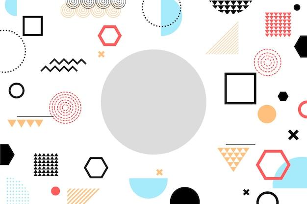 Hintergrund der geometrischen formen