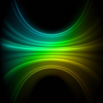 Hintergrund der glatten technologie-lichtlinien. datei enthalten