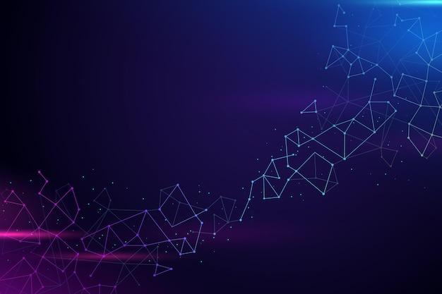 Hintergrund der gradienten-netzwerkverbindung