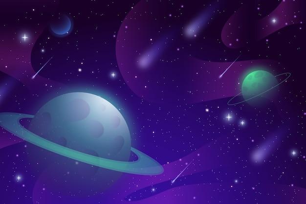Hintergrund der gradientengalaxie