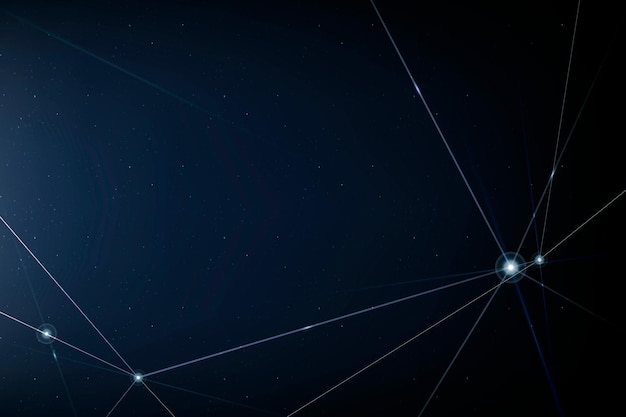 Hintergrund der internet-netzwerktechnologie mit blauer digitaler linie
