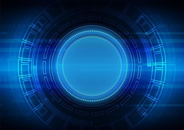 Hintergrund der schaltungstechnologie mit high-tech-digitaldatenverbindungssystem und elektronischem computerdesign
