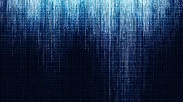 Hintergrund der speed electronic circuit microchip-technologie, high-tech-digital- und zukunftskonzeptdesign
