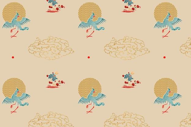 Hintergrund der traditionellen chinesischen kunst