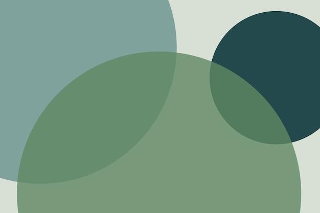 Hintergrund der überlappenden kreise