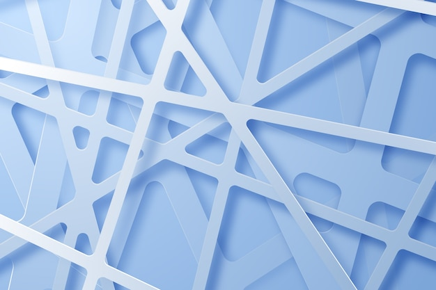 Hintergrund des 3d-papierstils